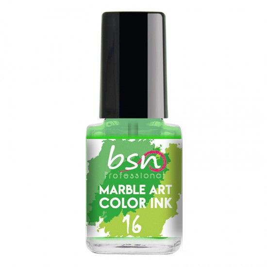 16 NEON GREEN - Water Marble color Ink - 12ml