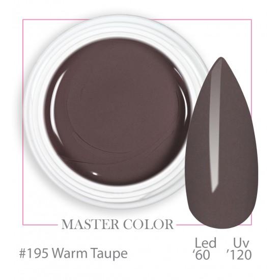 195 - Warm Taupe - Master Color - Gel color UV LED - 5ml