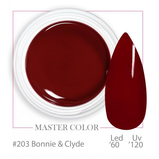 203 - Bonnie & Clyde - Master Color - Gel color UV LED - 5ml