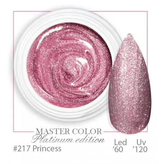 217 - Princess Platinum - Master Color - Gel color UV LED - 5ml