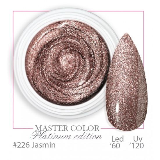 226 - Jasmin  - Platinum Platinum - Master Color - Gel color UV LED - 5ml