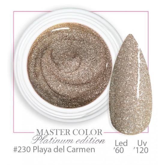 230 - Playa del Carmen  - Platinum Platinum - Master Color - Gel color UV LED - 5ml