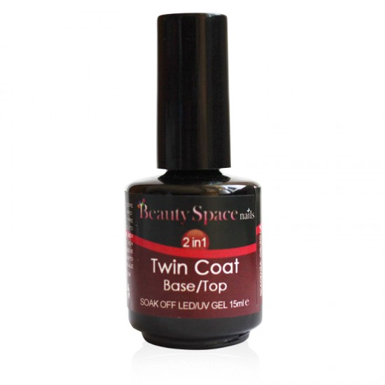 Twin Coat 2in1 Base - Top 15 ml