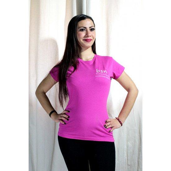 T-shirt Regular Comfort Donna Fuxia