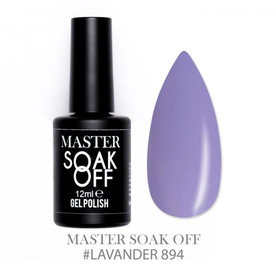 LAVANDER 894 - Master Color Soak Off 12 ml