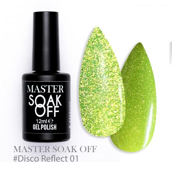 01 Disco reflect - Master Color Soak Off 12 ml