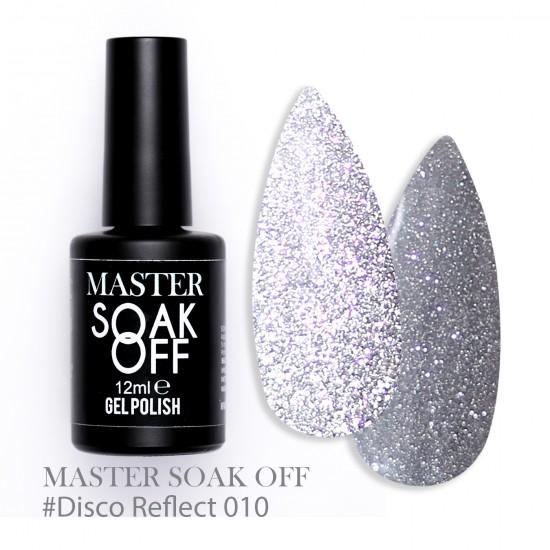 010 Disco reflect - Master Color Soak Off 12 ml