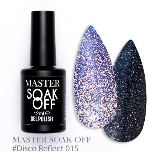 015 Disco reflect - Master Color Soak Off 12 ml