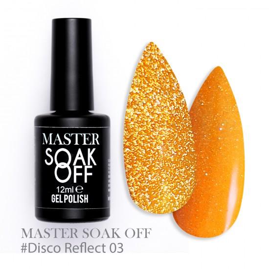 03 Disco reflect - Master Color Soak Off 12 ml