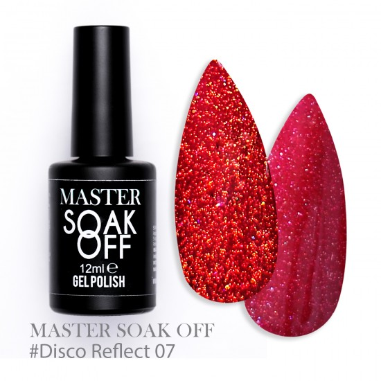 07 Disco reflect - Master Color Soak Off 12 ml