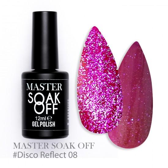 08 Disco reflect - Master Color Soak Off 12 ml