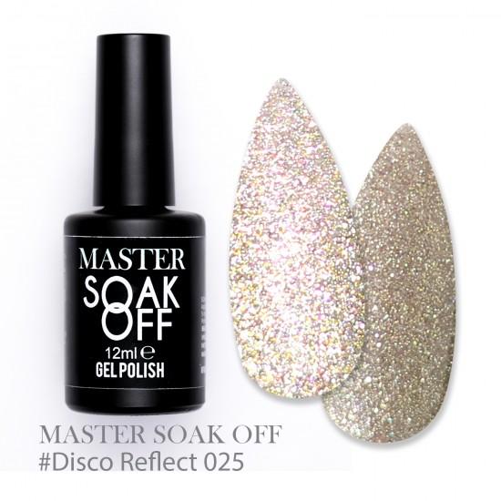 025 Disco reflect - Master Color Soak Off 12 ml