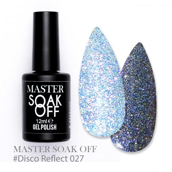 027 Disco reflect - Master Color Soak Off 12 ml
