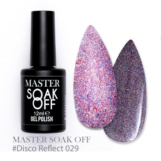 029 Disco reflect - Master Color Soak Off 12 ml