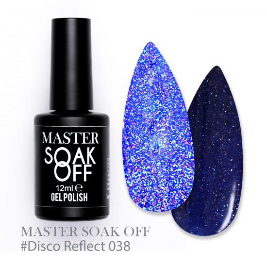 038 Disco reflect - Master Color Soak Off 12 ml