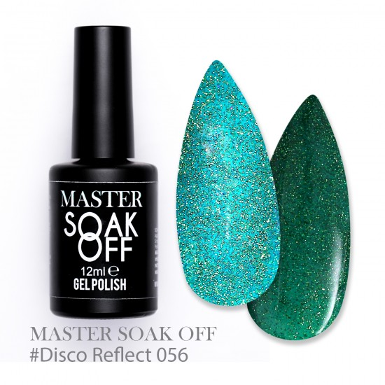 056 Disco reflect - Master Color Soak Off 12 ml