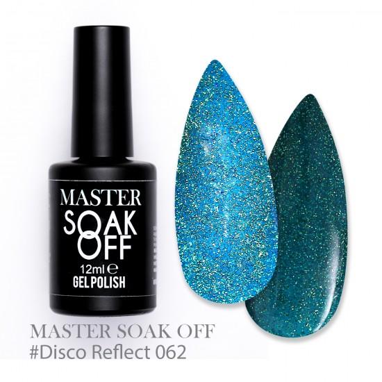 062 Disco reflect - Master Color Soak Off 12 ml