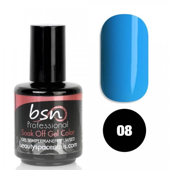 Blue Sunday 08 - Soak Off UV Gel Polish