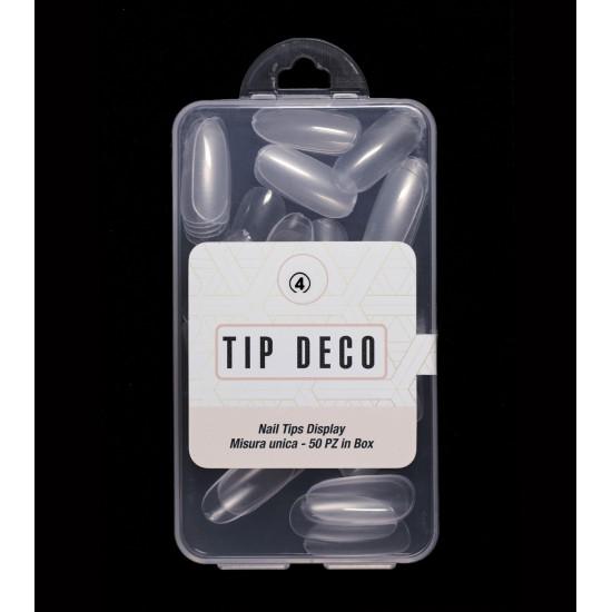 Tip Box 50pz Trasparente satinate 4
