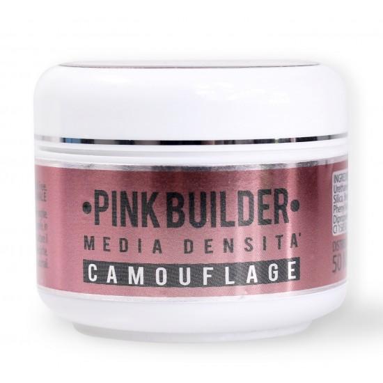 50ML - PINK BUILDER - GEL UV CAMOUFLAGE MEDIA DENSITA' - 50 ML