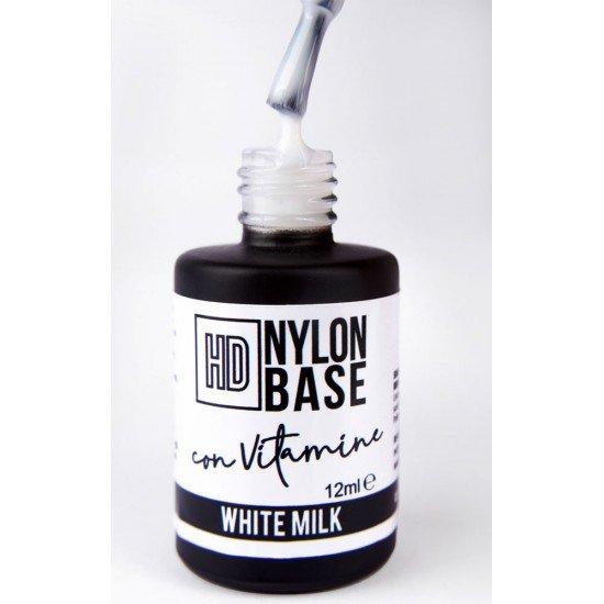 White Milk - Hd Nylon Base Builder with Vitamin E and Calcium